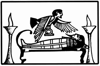 Птица Ба :: Мифические существа :: Магические символы