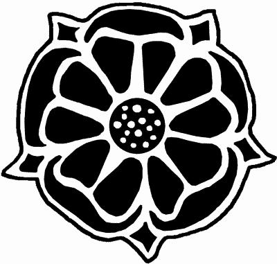 герб роза